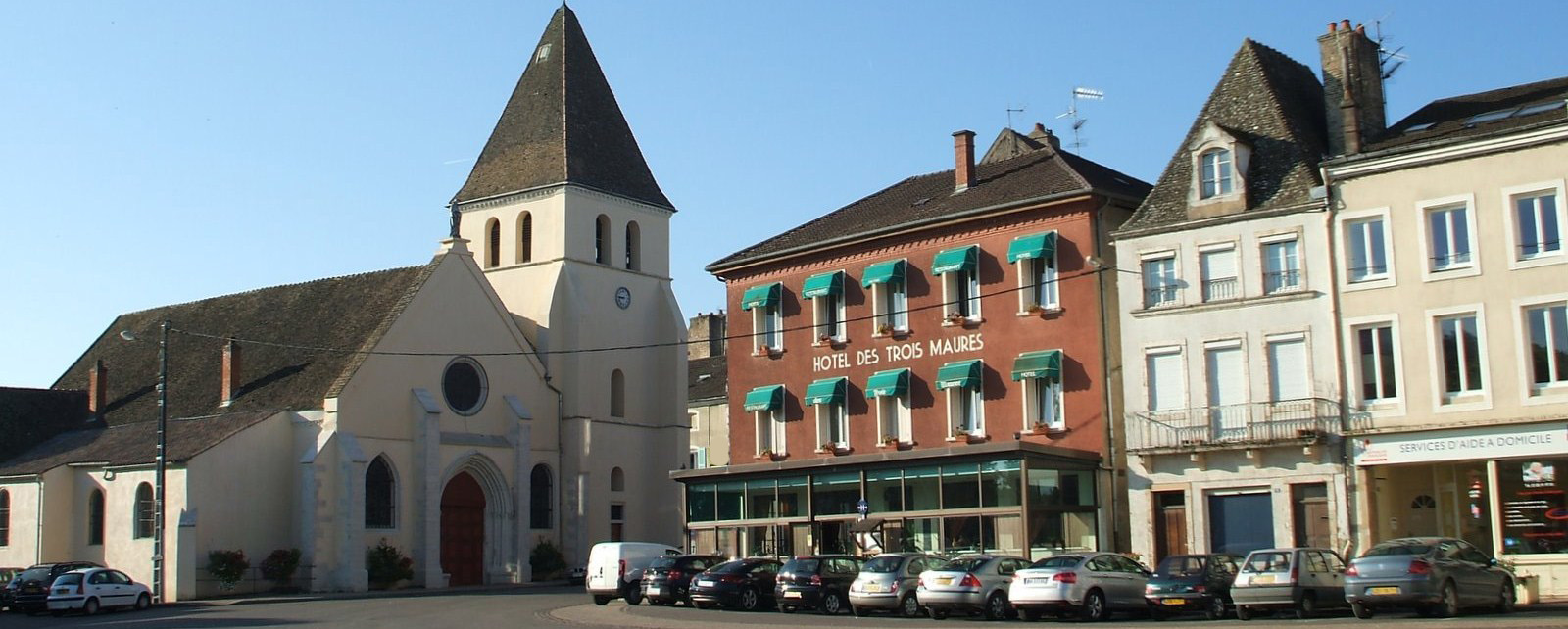 Hôtel Restaurant Les 3 Maures Verdun sur le Doubs